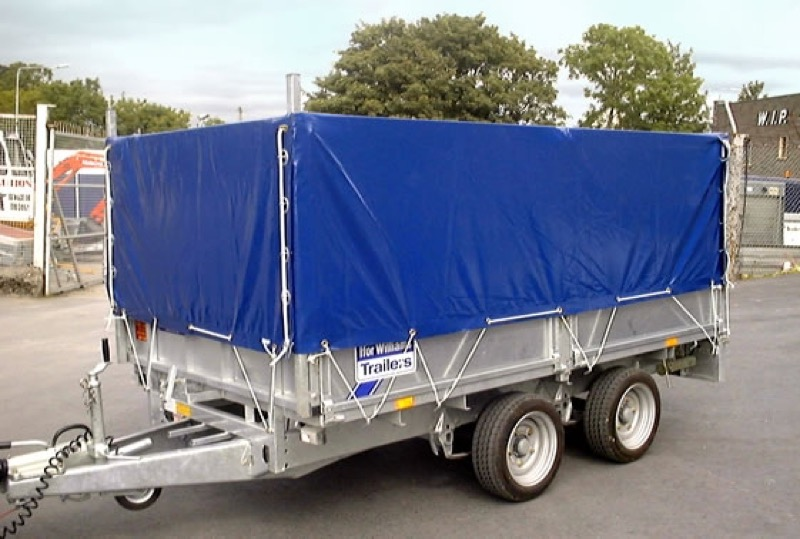 Fitted Ifor Williams trailer cover